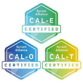 Bild: Certificate Badges CAL, Scrum Alliance