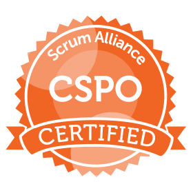 Bild: Certificate Badge CSPO, Scrum Alliance